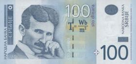 Serbien / Serbia P.49 100 Dinara 2006 (1)