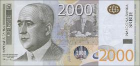 Serbien / Serbia P.61b 2000 Dinara 2012 (1)