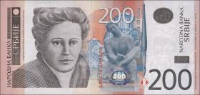 Serbien / Serbia P.58a 200 Dinara 2011 (1)