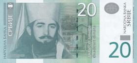 Serbien / Serbia P.47 20 Dinara 2006 (1)