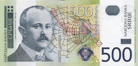 Serbien / Serbia P.43 500 Dinara 2004 (1)