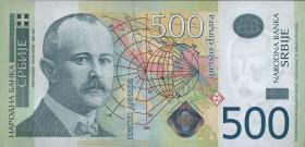 Serbien / Serbia P.59a 500 Dinara 2011 (1)