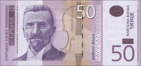 Serbien / Serbia P.56a 50 Dinara 2011 (1)