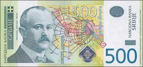 Serbien / Serbia P.51 500 Dinara 2007 (1)