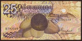 Seychellen / Seychelles P.24 25 Rupien (1979) (2)