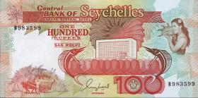 Seychellen / Seychelles P.35 100 Rupien (1989) (1)