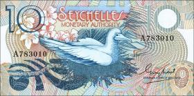 Seychellen / Seychelles P.23 10 Rupien (1979) (1)