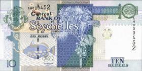 Seychellen / Seychelles P.42 10 Rupien 2013 (1)