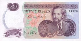Seychellen / Seychelles P.20 20 Rupien (1976) (1)