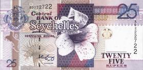 Seychellen / Seychelles P.37b 25 Rupien (2008)  (1)
