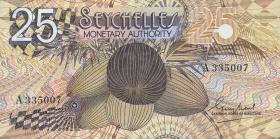 Seychellen / Seychelles P.24 25 Rupien (1979) (1)