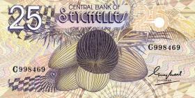 Seychellen / Seychelles P.29 25 Rupien (1983) (1)