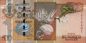 Seychellen / Seychelles P.45 500 Rupien 2011 (1)