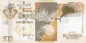 Seychellen / Seychelles P.41 500 Rupien (2005) (1)