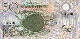 Seychellen / Seychelles P.30 50 Rupien (1983) (1)