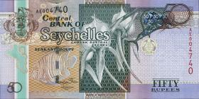 Seychellen / Seychelles P.43 50 Rupien 2011 (1)