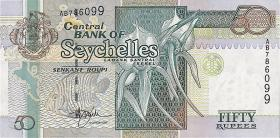 Seychellen / Seychelles P.38 50 Rupien (1998) (1)