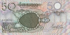 Seychellen / Seychelles P.25 50 Rupien (1979) (1)