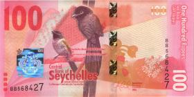 Seychellen / Seychelles P.50 100 Rupien 2016 (1)