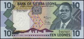 Sierra Leone P.15 10 Leones 1988 (1)
