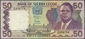 Sierra Leone P.17b 50 Leones 1989 (1)