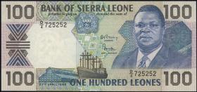 Sierra Leone P.18a 100 Leones 1988 (1)