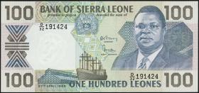 Sierra Leone P.18b 100 Leones 1989 (1)