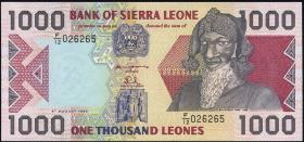Sierra Leone P.20a 1000 Leones 1993 (1)