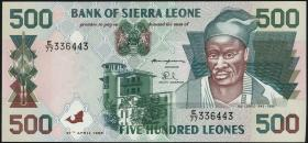 Sierra Leone P.23a 500 Leones 1995 (1)