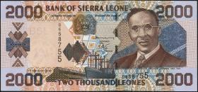 Sierra Leone P.26a 2000 Leones 2002 (1)