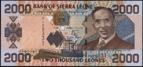 Sierra Leone P.26b 2000 Leones 2003 (1)