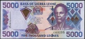 Sierra Leone P.27a 5000 Leones 2002 (1)