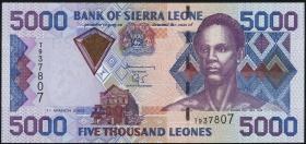 Sierra Leone P.27b 5000 Leones 2003 (1)