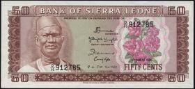Sierra Leone P.04e 50 Cents 1984 (1)