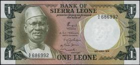 Sierra Leone P.05a 1 Leone 1974 (1)
