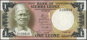 Sierra Leone P.05e 1 Leone 1984 (1)