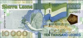 Sierra Leone P.29b 10000 Leones 2007 Friedensabkommen (1)