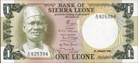 Sierra Leone P.05b 1 Leone 1978 (1)