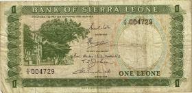 Sierra Leone P.01b 1 Leone (1969) (4)
