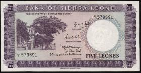 Sierra Leone P.03 5 Leones (1964) (2)