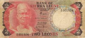 Sierra Leone P.06c 2 Leones 1978 (3-)