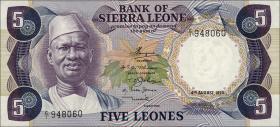 Sierra Leone P.07a 5 Leones 1975 (1)