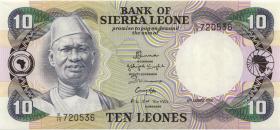 Sierra Leone P.08c 10 Leones 4.8.1984 (1)