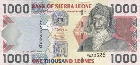 Sierra Leone P.24c 1000 Leones 2006 (1)