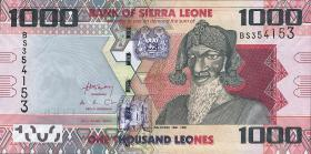 Sierra Leone P.30 1000 Leones 2010 (1)