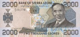 Sierra Leone P.25 2000 Leones 2000 (1)