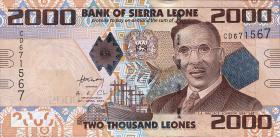 Sierra Leone P.31 2000 Leones 2010 (1)