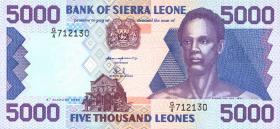Sierra Leone P.21a 5000 Leones 1993 (1)