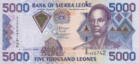 Sierra Leone P.27c 5000 Leones 2006 (1)