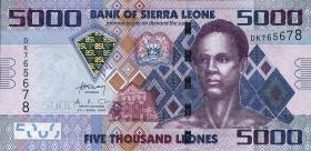 Sierra Leone P.32 5000 Leones 2010 (1)